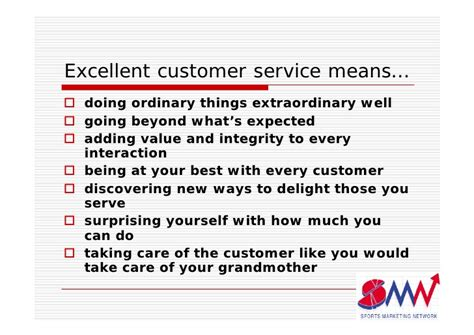 What Does Great Customer Service To Me by How To Provide Excellent Customer Service In Your Leisure
