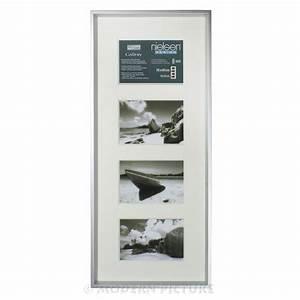 Bilderrahmen Für 4 Bilder : fotorahmen bilderrahmen aluminium silber matt nielsen design ~ Watch28wear.com Haus und Dekorationen