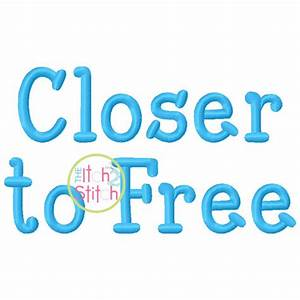 close to free embroidery font 5 10 15 With letter it embroidery software free trial