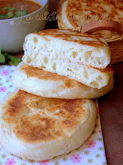 petit pain matlouh tres moelleux khobz tajine recettes