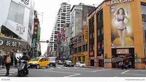 Taipei Hsimending Street View.HD Stock video footage | 8148348