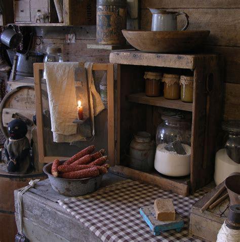 ideas primitive country kitchen decor