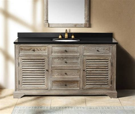 weathered wood vanity buy weathered wood bathroom vanities for a cottage style