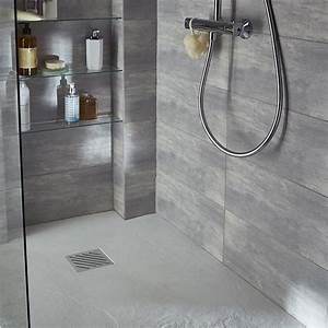 best 25 carrelage gris clair ideas on pinterest salles With carrelage adhesif salle de bain avec dalle led 60 x 30