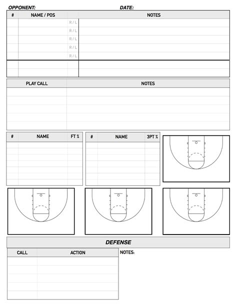 scouting   bench report template college