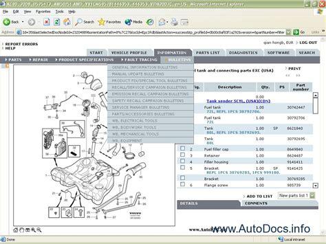 free online car repair manuals download 2010 volvo s80 regenerative braking volvo vida cars 2011 parts catalog repair manual order download