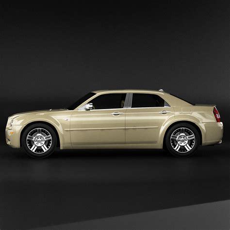 Chrysler 300 Models chrysler 300 3d model max obj 3ds fbx cgtrader