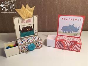 Box Selber Basteln : kindergeburtstag verpackung stampin up 3 idee box ~ Lizthompson.info Haus und Dekorationen