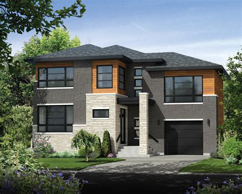 style house plan 1 beds 1 00 baths 538 sq ft plan contemporary style house plan 3 beds 1 baths 2342 sq ft Modern
