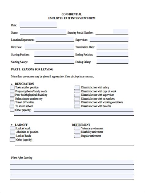 interview forms   ms word excel