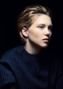 Lea Seydoux Blue Hair