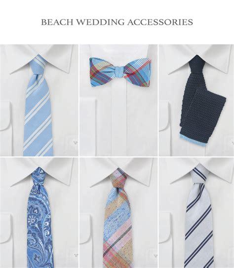 beach wedding inspiration groomsmen accessories