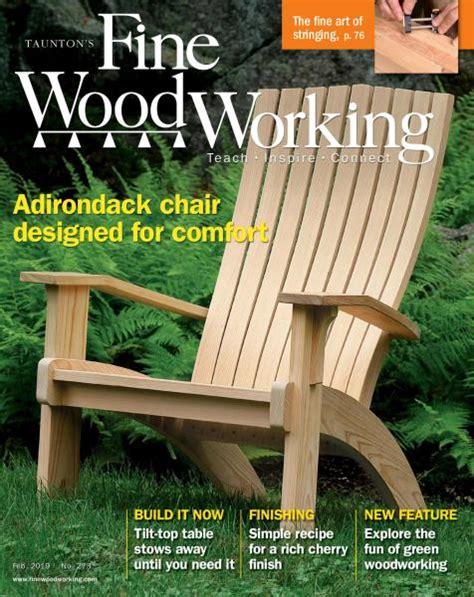 fine woodworking january february