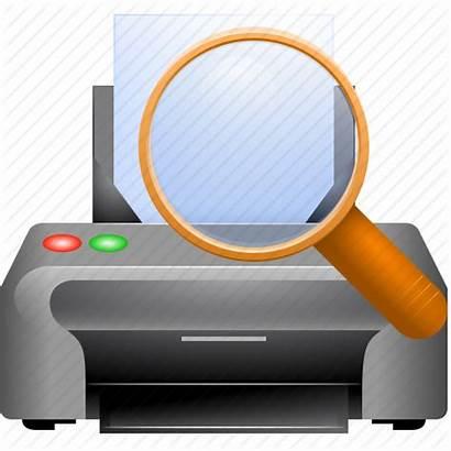 Icon Printer Printing Report Document Icons Publish