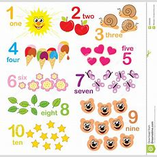 Counting Game For Kids Stock Illustration Illustration Of Cute 20000085