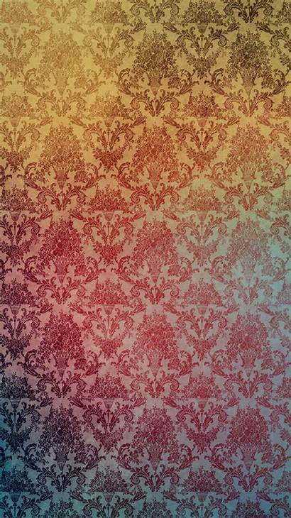 Pattern Iphone Damask Abstract Wallpapers Patterns Backgrounds