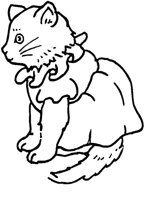 cats cat animals coloring pages coloring page book