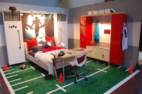 sport de chambre déco chambre ado murs en couleurs fraîches en 34 idées