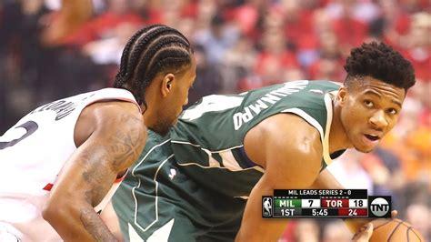 Milwaukee Bucks vs Toronto Raptors - Game 3 - Full Game ...