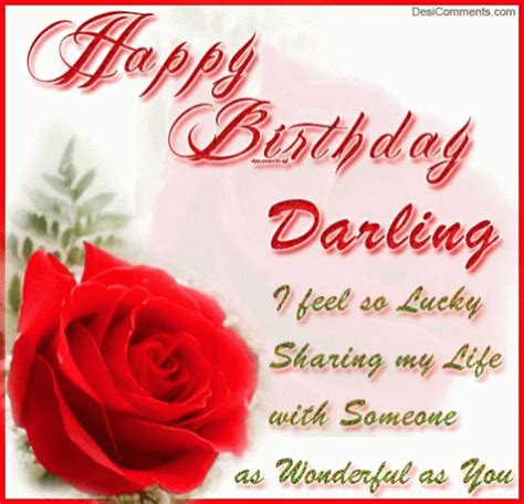happy birthday darling gifs tenor