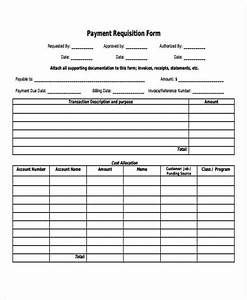 Billing Format For Construction Free 43 Requisition Forms In Pdf Ms Word