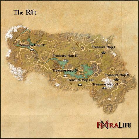🤑 eso the rift ce treasure map - the rift treasure map 3