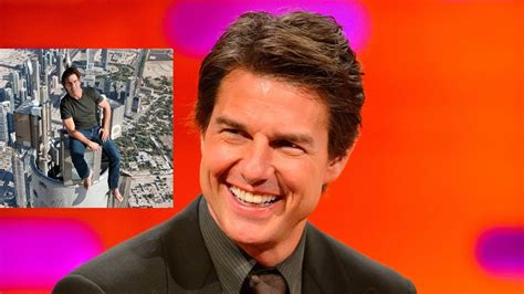 Tom Cruise On Top Of Worlds Tallest Building The Graham