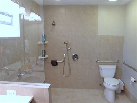 handicap showers  home life easier accessible remodeling
