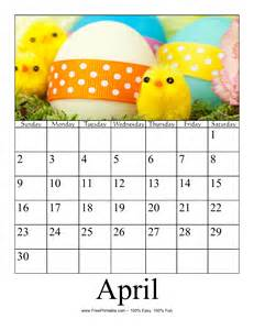 April 2017 Calendar Printable Org
