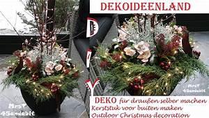 Weihnachtsdeko Selber Machen Wohnung : diy weihnachtsdeko selbermachen f r au en i stacheldrahtpflanze i kerststuk christmas ~ A.2002-acura-tl-radio.info Haus und Dekorationen