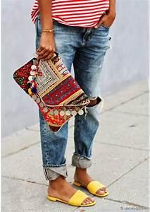 Pochette Ethnique Chic : sandales pochette ethniques ethnic chic pinterest belle et articles ~ Teatrodelosmanantiales.com Idées de Décoration