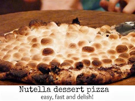 nutella dessert pizza recipe nutella dessert pizza debbiedoos