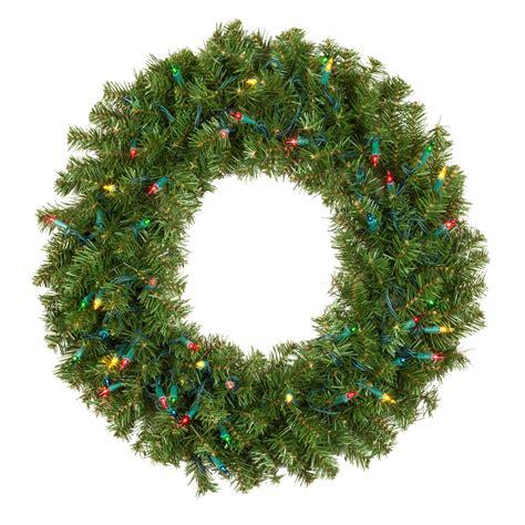 artificial christmas wreaths douglas fir prelit