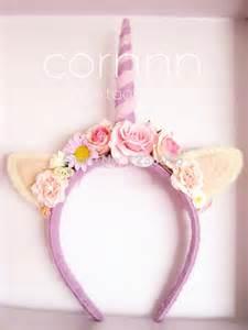 unicorn headband 20 ideias de tiaras de unicórnio para o carnaval como