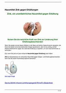 Hausmittel Gegen Kellerasseln : hausmittel zink gegen erk ltungen ~ Lizthompson.info Haus und Dekorationen