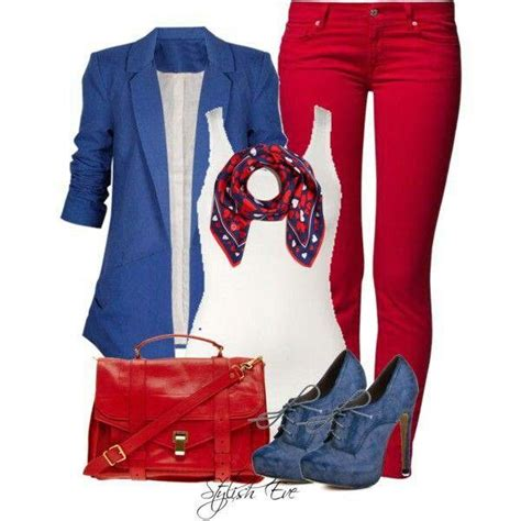 Red White and Blue Outfit | Cute clothes!!!) | Pinterest | Blue Outfits Red White Blue and ...