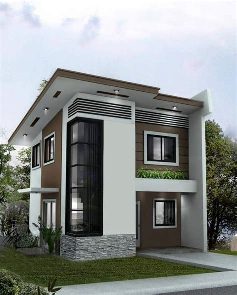pin  saddam qureshi  house designs  storey house design house design philippines small