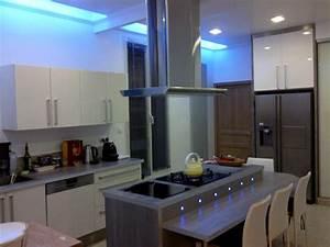Eclairage Led Pour Cuisine : deco led eclairage id es d co pour les cuisines ~ Preciouscoupons.com Idées de Décoration