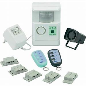 kit systeme d39alarme filaire basetech pir 3312k vente With systeme alarme filaire maison