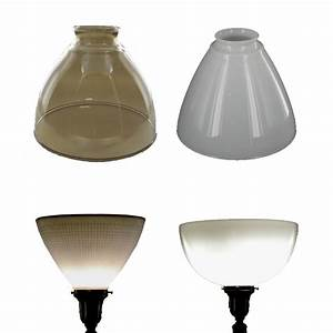 Lamp parts lighting parts chandelier parts ies for Floor lamp reflector shade glass