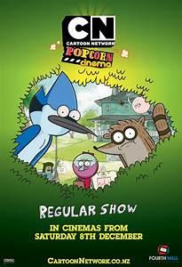 Movie poster for Regular Show: Cartoon Network Popcorn ...