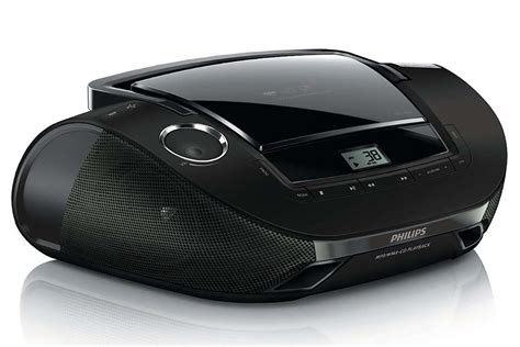 usb cd player philips sound machine portable cd player with usb black az1837 ebay