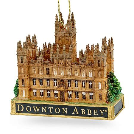 downton abbey christmas ornaments pack of 6 officially licensed downton castle ornaments 3 5 quot walmart