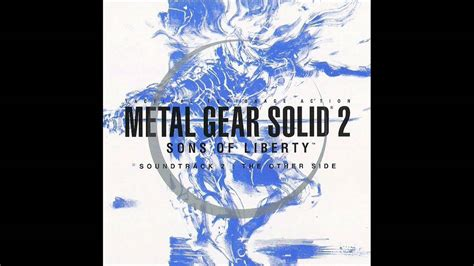 Metal Gear Solid 2 Sons Of Liberty The Other Side Ps2pc