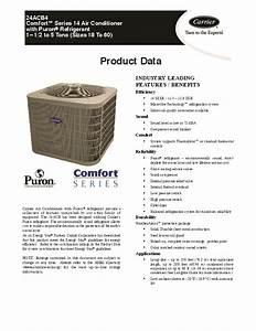 Carrier 24acb4 3pd Heat Air Conditioner Manual