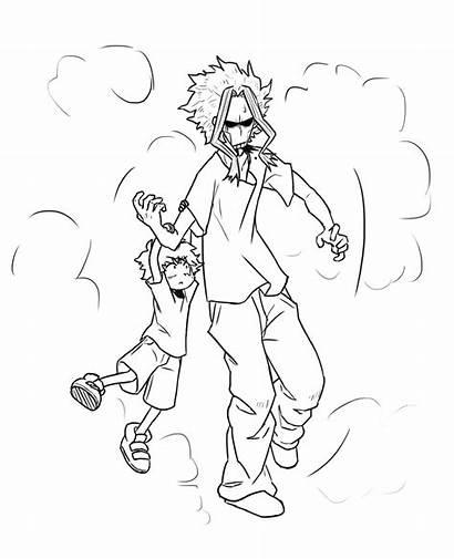 Might Academia Hero Deku Dad Boku Mini