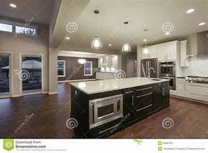 New home interior stock image image 26291351 for Pictures of new homes interior