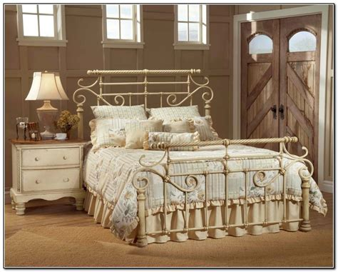 Wrought Iron Bedroom Furniture  Beds  Home Design Ideas