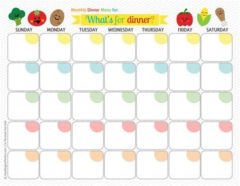 monthly menu template 8 best images of printable monthly dinner planner printable monthly meal planner calendar