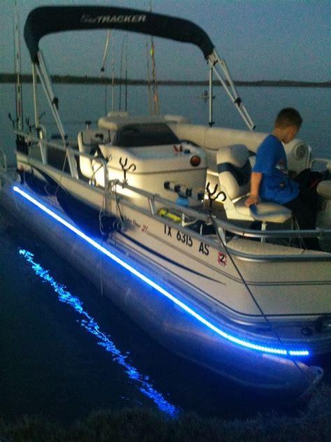 Led Lights On Pontoon Boat by Led Boat Lights Bennington Keychain Cover
